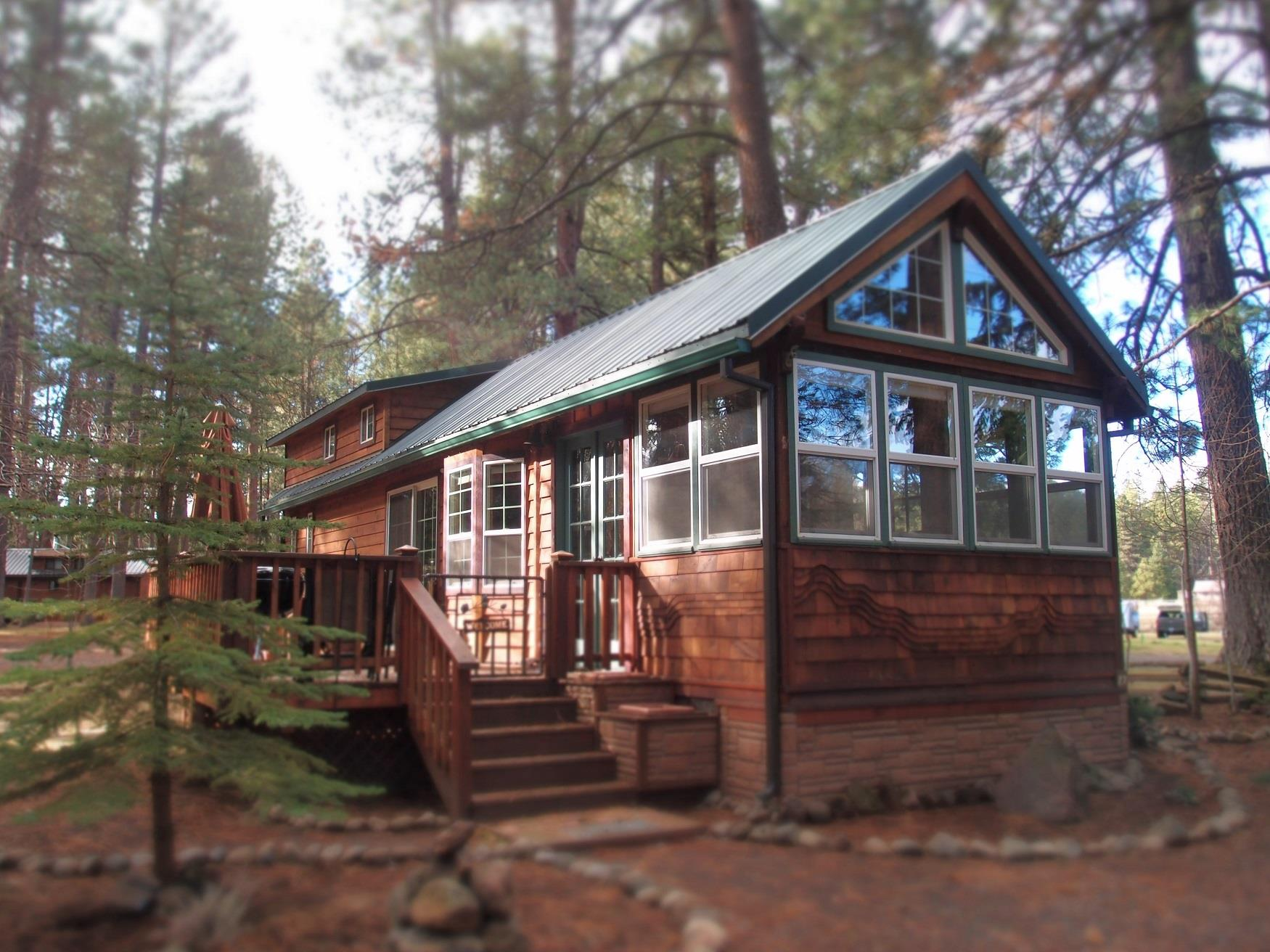 Pinecone Cabin at Cold Springs Resort in Camp Sherman, OR