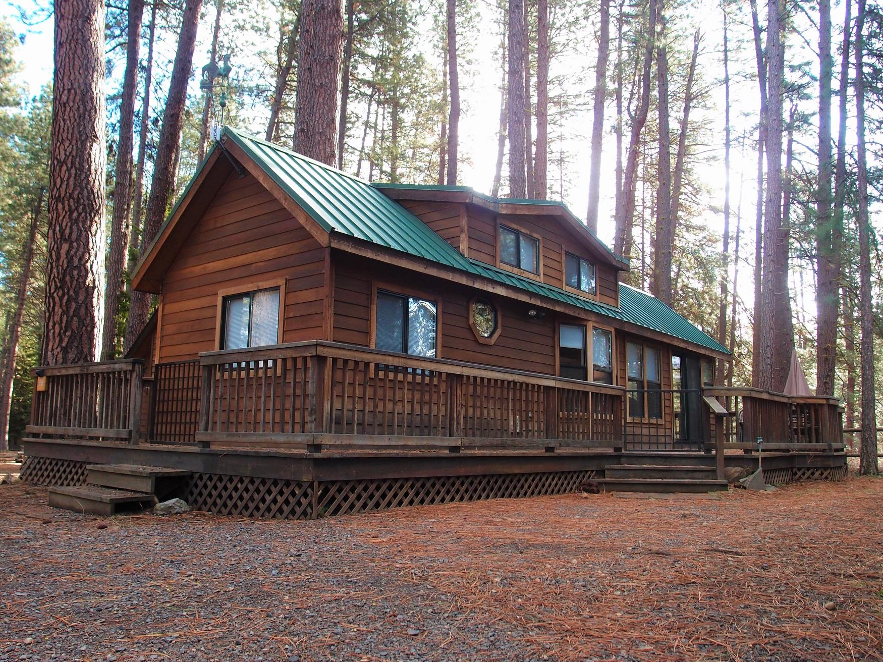 Fir Cabin at Cold Springs Resort in Camp Sherman, OR